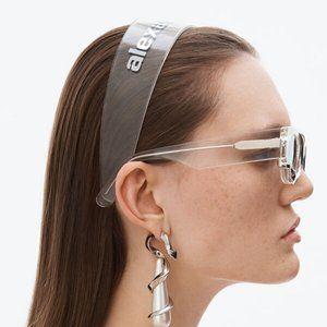 Alexander Wang Logo Print Headband